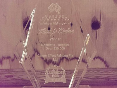 Award for excellence domestic repaint