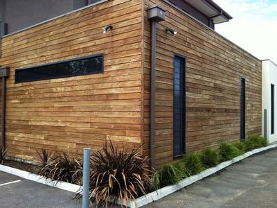 Exterior wooden repaint