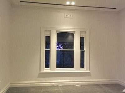 Interior painting completed project